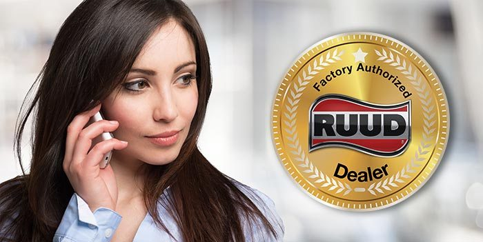 San Antonio factory authorized RUUD dealer