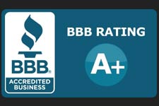 BBB Accredited with A+ Customer Rating